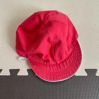 【古着】子供服 小学校用赤白帽 サイズ? ※有料商品とセットでお...