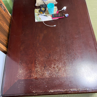 ダイニングテーブル こたつ付き 値下げしました