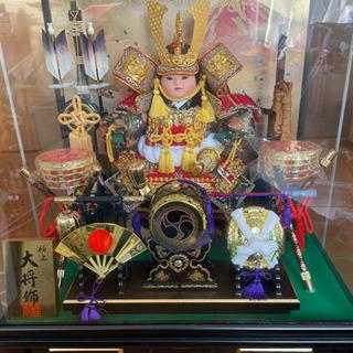 五月人形 大将飾(オルゴール付)