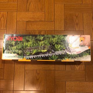 美品☆RYOBI ヘッジトリマ◆ガーデニング道具 庭木の剪定