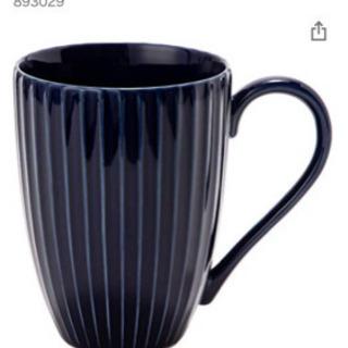 【お値下げ】【未使用】【新品】ペアマグカップ ブルー 2個…