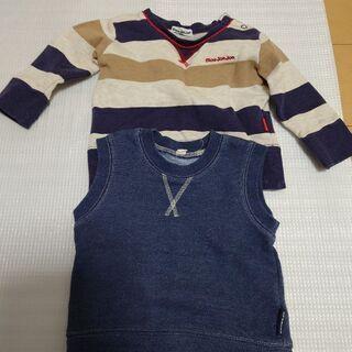 男の子用子供服サイズ80と90