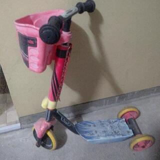 スーパー戦隊 シンケンジャー ちゃりんくるスクーター キックスケーター