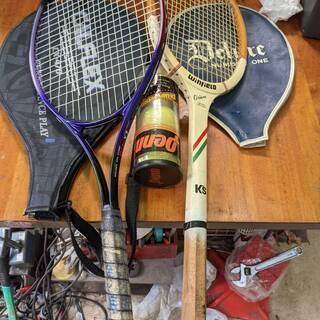 テニス ラケット 2本 ボール付き