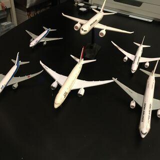 JALとANAの飛行機模型