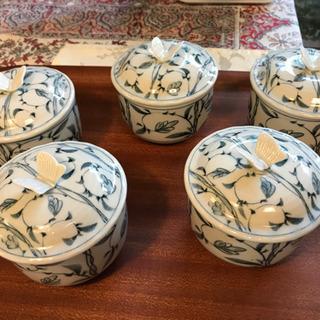 【ネット決済】茶碗蒸し容器(蓋付き)5セット
