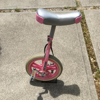 子供用 一輪車 14インチ ピンク色