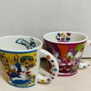 【500円】Disney ドナルド デイジー カップ
