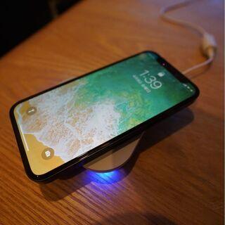 ドコモ ワイヤレス充電器 iPhone対応Qi