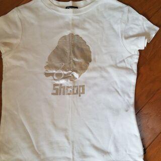 SHOOP チビTシャツ ホワイト