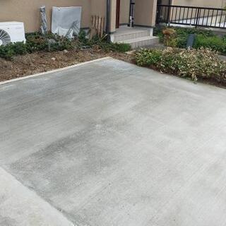 🤝安全施工外構工事(ブロック積み、土間打ち、お庭の改造など)承ります。