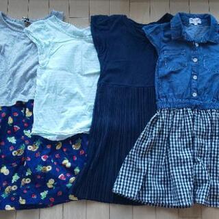 キッズ 130 ワンピース、Tシャツ