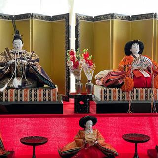 【ネット決済】久月 雛人形八段飾り 三歌仙 激レア 保存状態良好