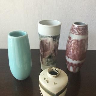 花瓶 vase 花びん 花 💐 4個セット お花 🌼 ガー…