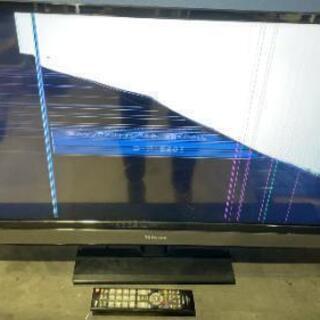 液晶テレビ 画面割れ