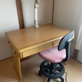 学習机と椅子のセット 最終価格2000円