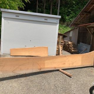 値段交渉可。檜木の一枚板