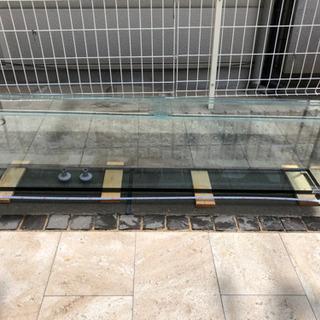 【ネット決済】アクアマリンプロ水槽 W160cm D20cm H...