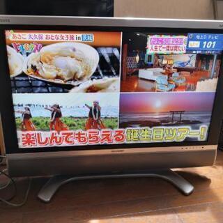 アクオス 37インチ液晶テレビ
