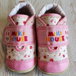 靴 14cm ミキハウス