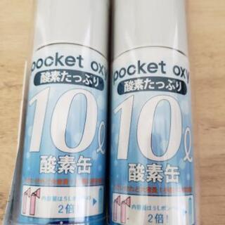 酸素缶 10㍑ 2本