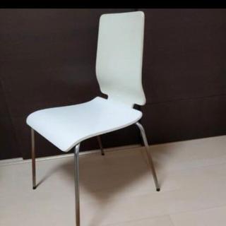 【ネット決済】【取引先決定】椅子 白色