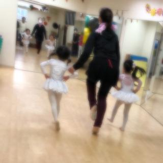3.4歳とママ限定 親子でチアもバレエも習って2000円