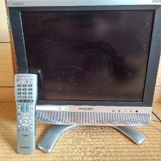 SHARP AQUOS液晶カラーテレビ