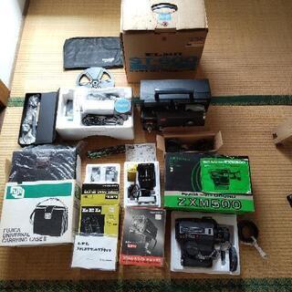 8ミリカメラ、映写機