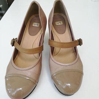 女性厚地ing本革靴