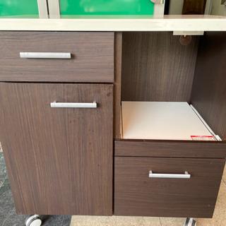 【お値段以上⤴️ニトリっ‼️】ニトリ キッチンカウンター 収納棚