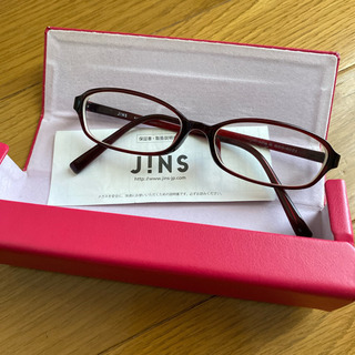JINS ジンス 眼鏡 ケース付き