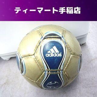 アディダス JFA サッカーボール サイズ4  金青 ジュニア ...