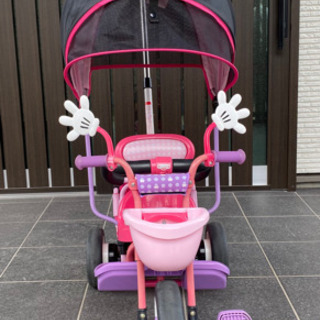 【ネット決済】ミニーマウス 三輪車