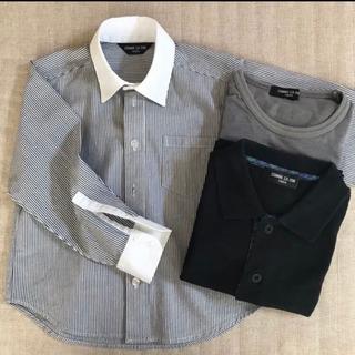 男の子 ワイシャツ 100サイズ コムサイズム