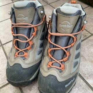 mont-bell 登山靴 23センチ