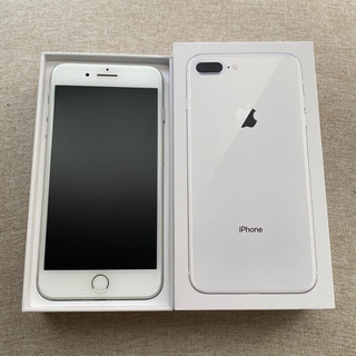 【無料】iPhone 8 Plus 256GB Silve...