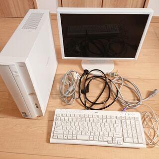 【美品】デスクトップパソコン+モニタセット NEC VL150/F