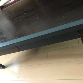 【ネット決済】引き出し付き リビングテーブル