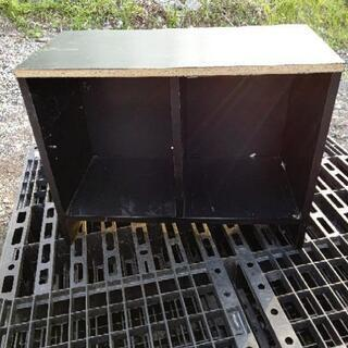 【収納家具】サイドボード 棚 台 中古品