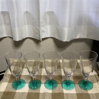 ワイングラス5個セット①(5/12で処分します)