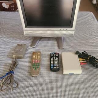 小さいAQUOS13インチテレビ チューナー付き