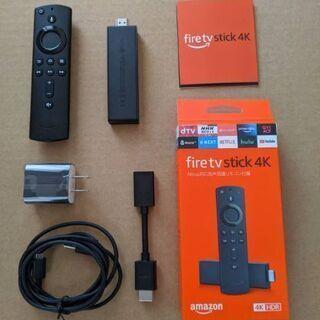 Fire TV Stick 4K Alexa対応音声認識リモコン...