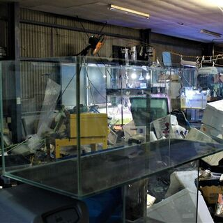 120x45x45オールガラス水槽