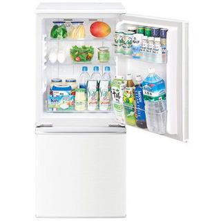 【ネット決済】SHARP製の冷蔵庫【SJ-D14D-W】