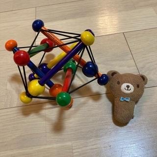 ボーネルンドおもちゃ&ミキハウスのがらがら