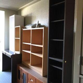 家具3点セット(机・テレビ台+8段ボックス)