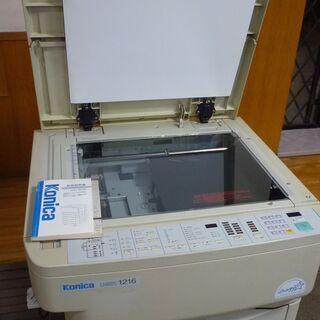 コピー機 無料で差し上げます KONICA U-BIX12…
