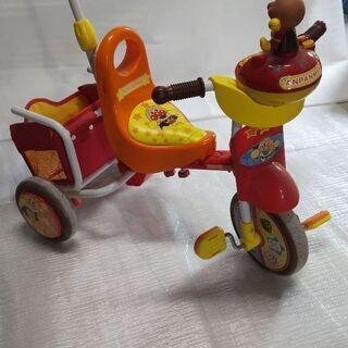 アンパンマン三輪車 ベビー用歩行補助