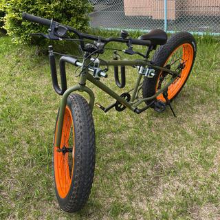 ◆ [決まりました]正規品のBRONX ファットバイク 26インチ ◆
